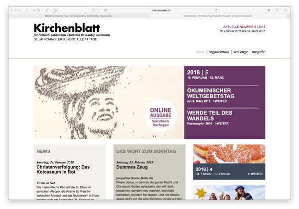 Kirchenblatt Neu