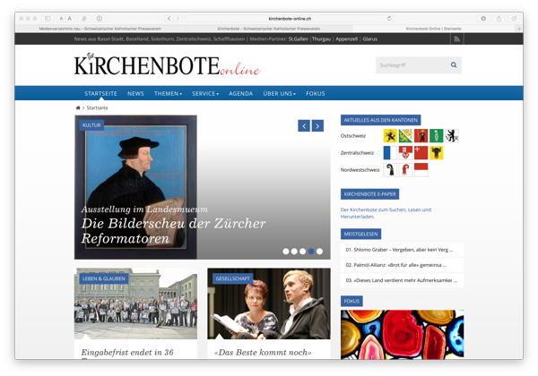 Kirchenbote Online Neu