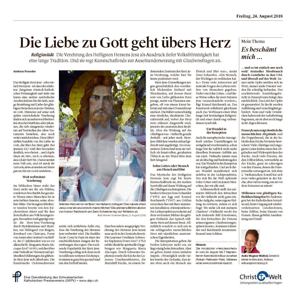 Christ Und Welt 2018 08 24