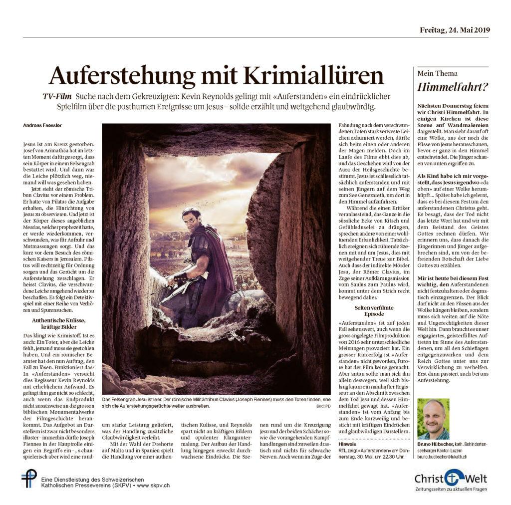 Christ Und Welt 2019 05 24