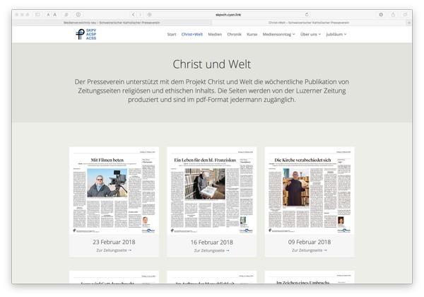 Christ Und Welt Neu