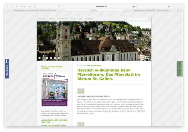 Pfarreiforum Stgallen Neu