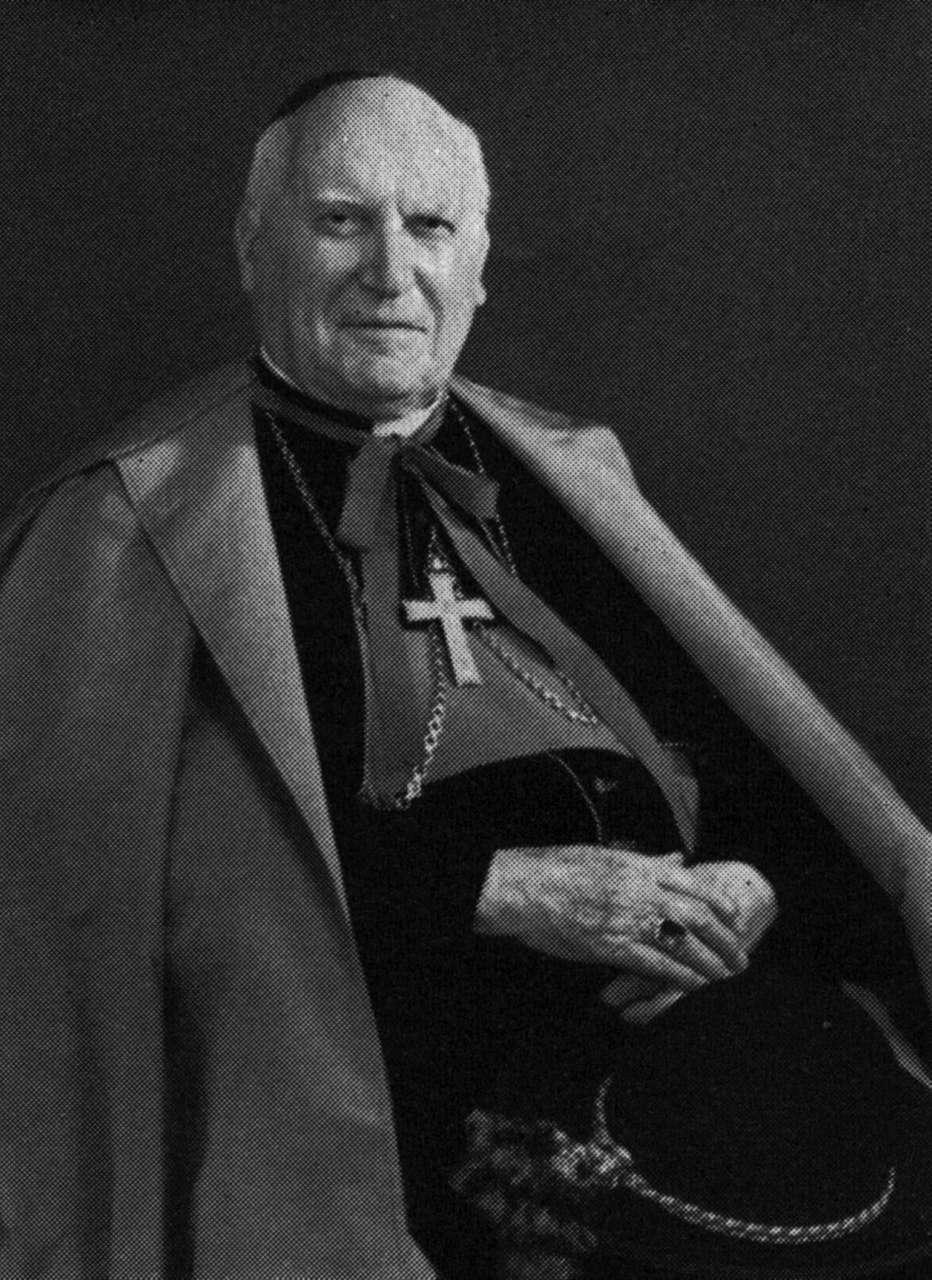 Von Streng Franziskus Bischof